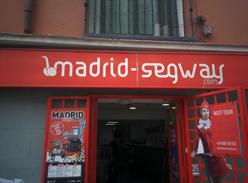 madrid segway tours