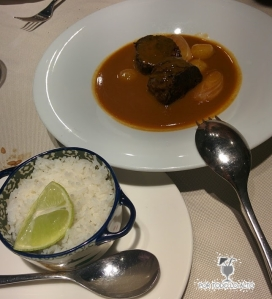Rabo de vaca al curry Massaman
