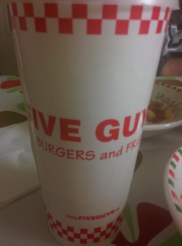 five guys madrid