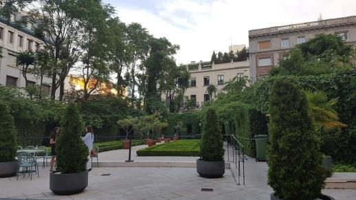 Terraza Fabula En Los Jardines De La Casa Del Marques De